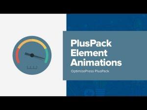 How To Use OptimizePress Row Animations