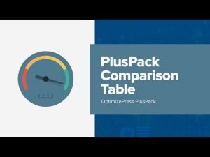 How To Use OptimizePress Comparison Table