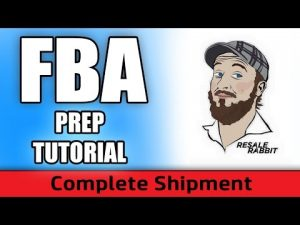How To Prepare A Shipment For Amazon FBA (Live Example)