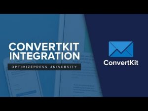 How To Integrate OptimizePress And ConvertKit