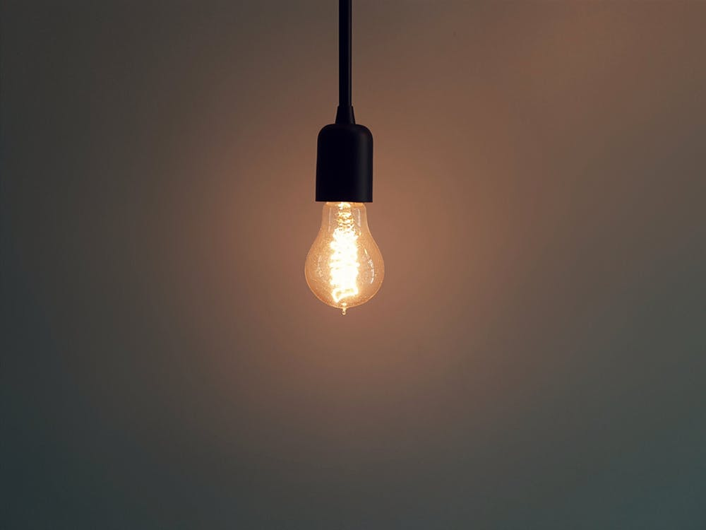begin with a single idea in mind