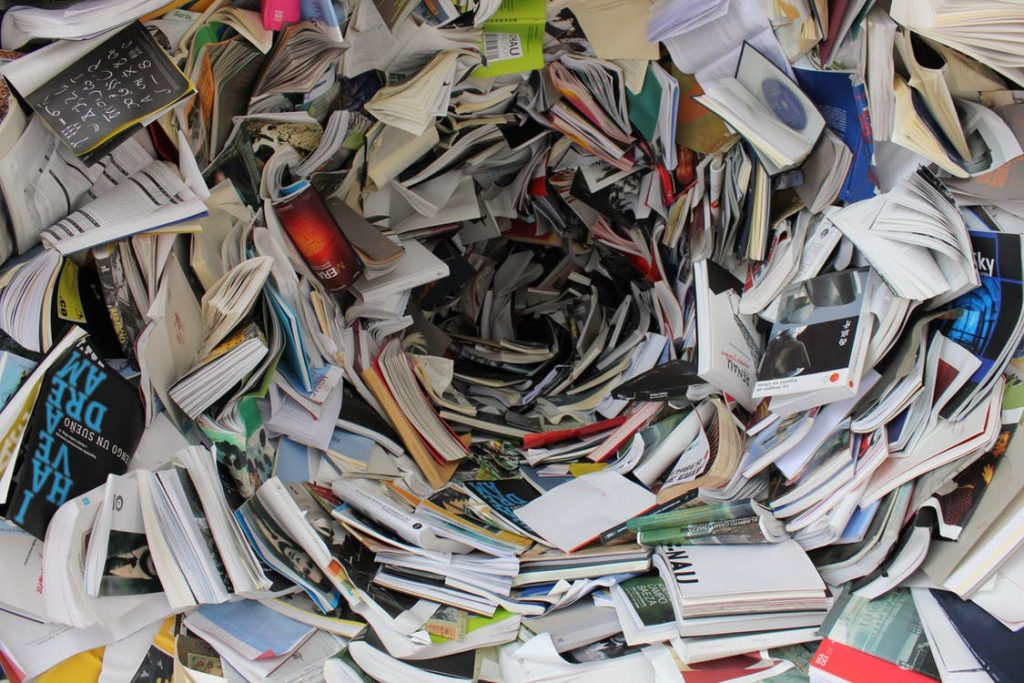 don't overwhelm the reader with too much text at a time
